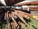 1 STILLAGE 633 ASSORTED STEEL PIPE,113-163 O/D, UP