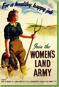 Robin Hill, who recently retired as Curator at Hartlebury Museum, concluded his talk with the observation that the Women s Land Army was