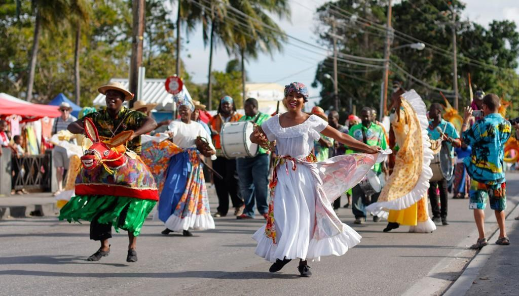 What cultural heritage does Carnival mix together?