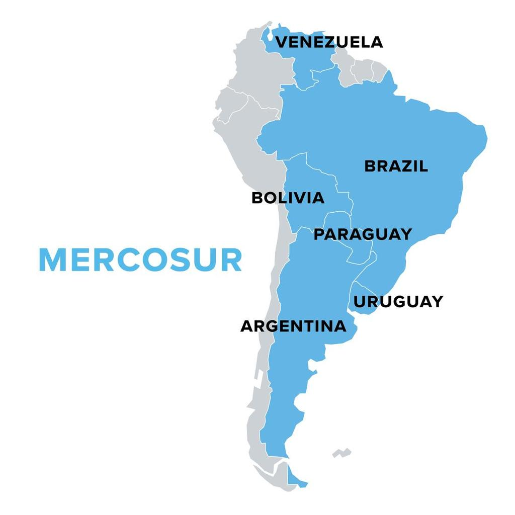 What does Brazil s membership in MECOSUR mean?