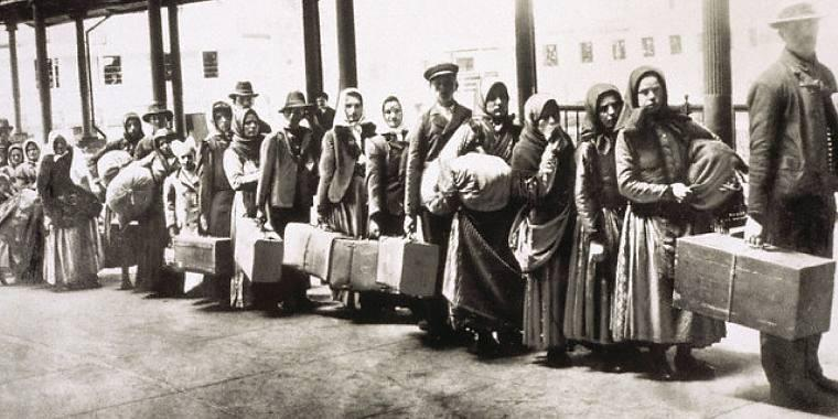 How did immigrants contribute to American society in the early 1900s?