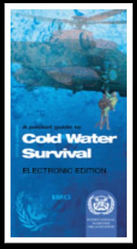 Cold water survival The Pocket Guide MSC.1/Circ.