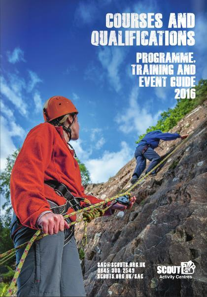 permits and badge courses We can deliver a variety of Scout Activity Permits including rock climbing, hill walking, raft building amongst others.