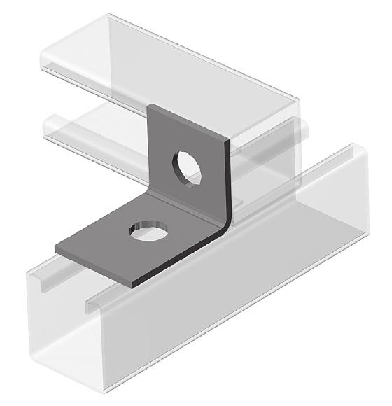 PRODUCT SPECIFICATIONS 0F 2 Corner Angle Type: Two hole, four hole, open angle Finish: Electro-Galvanized