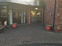 Entrance (Conference and Banqueting Suite Internal Entrance) Entrance This information is for the