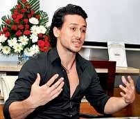 super hero of the country Tiger Shroff shared