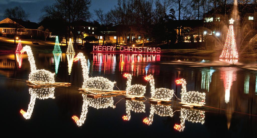 Happy Holidays: Twin Lakes Style It s the holiday season, and in the air there s a feeling of expectation, excitement, and a generous yuletide spirit, as the much-anticipated holiday traditions