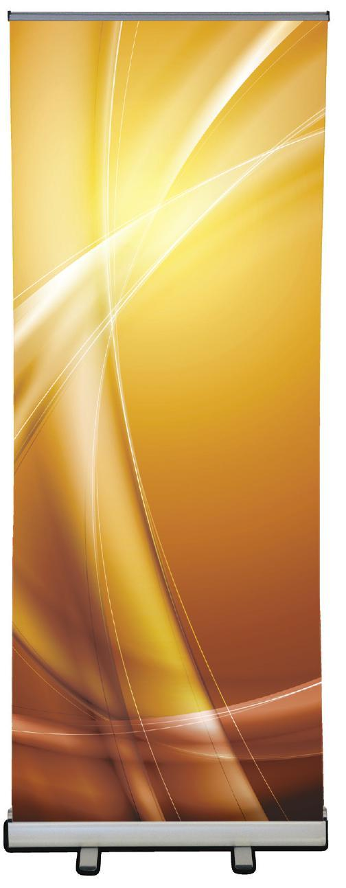 BANNER DISPLAYS CYCLONE Retractable Banner Display The CYCLONE provides an economical