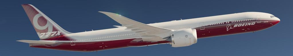 777X timeline Launch Firm configuration Production begins First delivery 2013