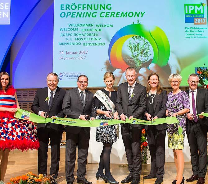 IPM Essen 2018 admission! Flores El Capiro HEADLINE PARTNER Royal FloraHolland has been a member of AIPH for years.