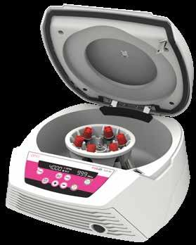 Clinical Centrifuge 4000 rpm CLC-01 30 Usage - designed for blood centrifugation and other clinical applications Multiple rotor and tube options - 6x10 ml (swing out rotor) / 8x15 ml (fixed angle