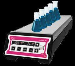 Heated Magnetic Stirrer 1500 rpm SM-05/10/15 Usage - chemical and pharma industry for mixing and/or heating liquids Maximum Speed - adjustable