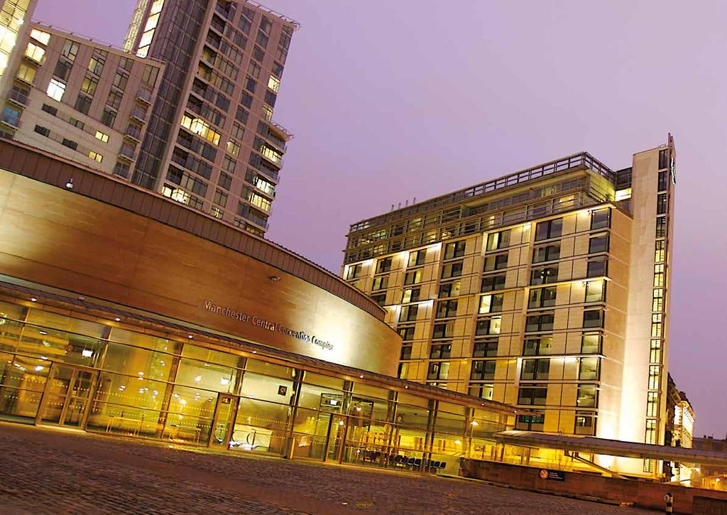 VENUE INFORMATION Manchester Central is an award-winning conference centre in the heart of one of Britain s most