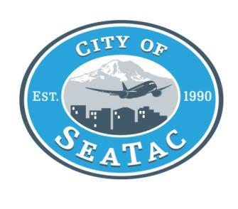 City of SeaTac Finance Department 4800 South 188 th Street SeaTac, WA 98188-8605 Ph: (206) 973-4880 Business License Application ALL LICENSES EXPIRE MARCH 31 Annual License Fees (effective January 1,