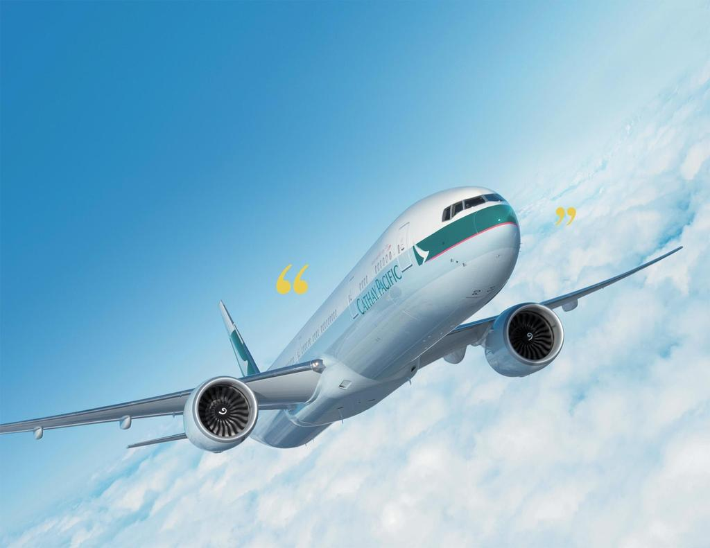 Cathay Pacific Airways 2009 Annual Results 10 March 2010