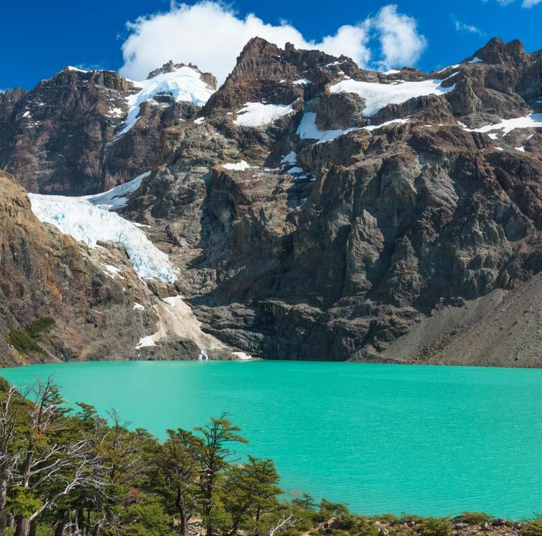 DAY 3: Los Glaciares National Park Activity Overview: Walking Activity Level: Easy to moderate Activity Length: 2-3 hour drive, 2 hours walking Today s itinerary features a full day of exploration in