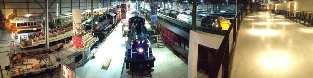 Exporail s permanent exhibition and its 44 historic