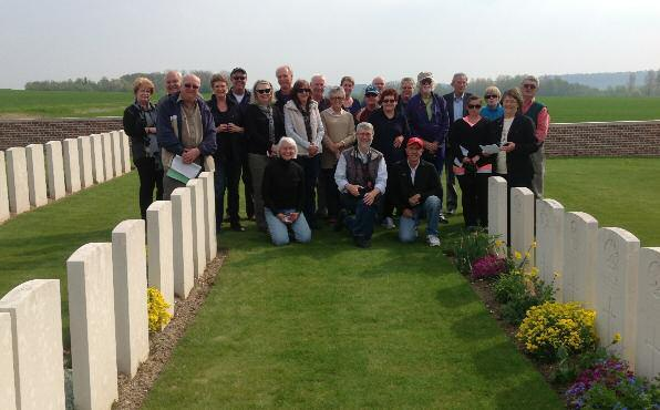 Albatross travellers on the Western Front, courtesy of Dr Richard Reid Experience ANZAC Day with the Commemorative Tour Experts Tours designed for you Albatross tours have been specifically designed