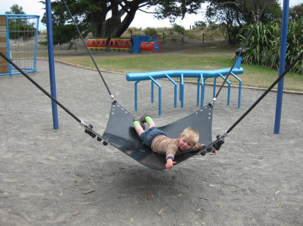 of playgrounds around New Zealand some