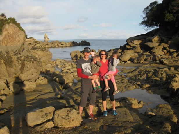 there are others around or not That evening we arrived to Kaiteriteri, a village on the
