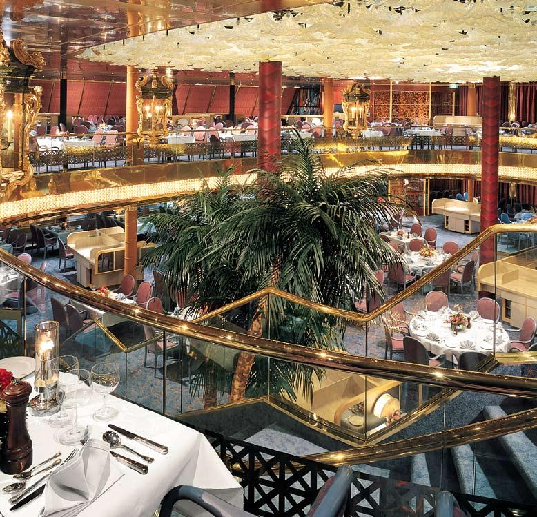 an elite fleet taking the air on the Promenade Deck. spacious, mid-sized ships. elegant two-tiered Dining Room. espresso and enrichment at Explorations Café.