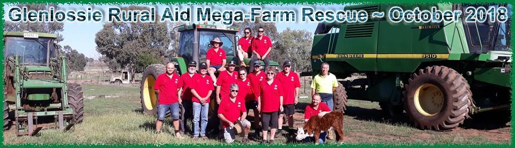 QCC Wanderer Kenilworth / Woodford ~ December/January 2018/2019 Page 14 FORBES RURAL AID MEGA FARM RESCUE ~ October 2018 By Greg and Shirley Sneddon A long with another 180 lucky individuals, Shirley