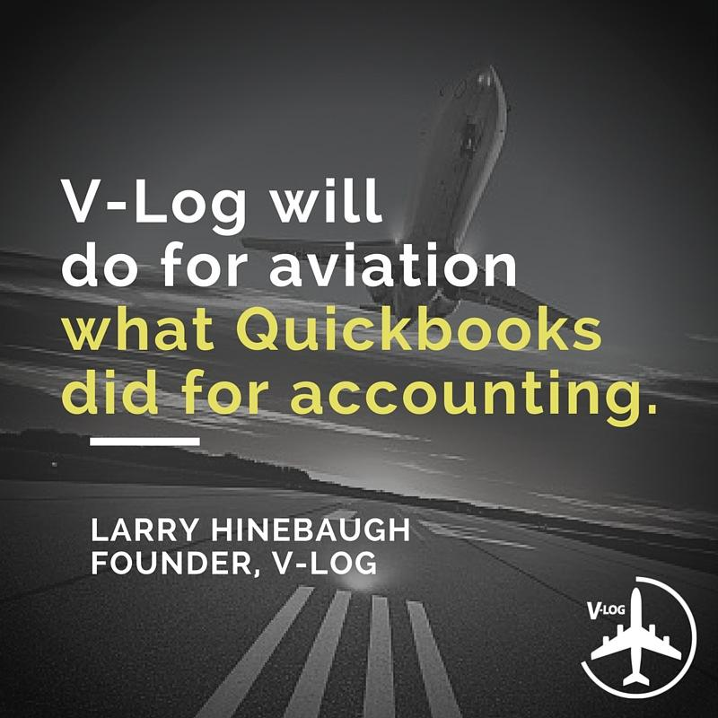 tion consultant working on aircraft valuation, the V-Log program was expanded to any one who works with aircraft logbooks.