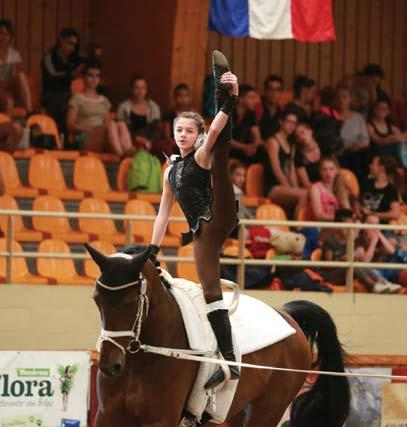 Muller and Pozniakow walked away with gold and silver medals respectively after competing in the Competition Vaulting International One Star tournament, which was held in Belgium in May.