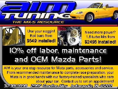 ".. ""We have the full line of Mazda Miata accessories!"" Looking for MazdaSpeed Parts?"