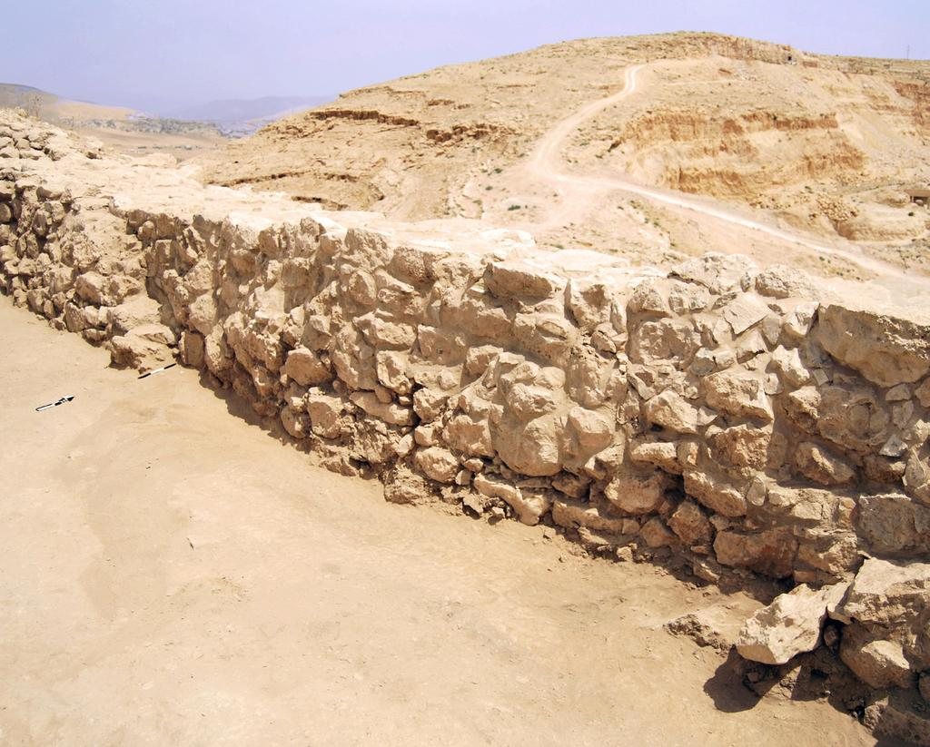 Fig. 4 Khirbet al-batrawy: the two facing staircases (W.181 and W.