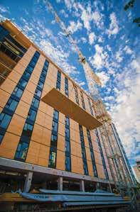 Building construction markets Offsite manufacture of timber frame and mass wood buildings for residential and commercial buildings has grown significantly in Australia over the past 3 years, with