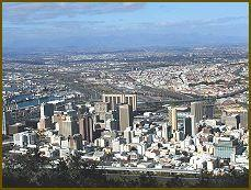 We will now drive to the Table Mountain and ascend by cable car. The view of the city and the entire surrounding area is truly breathtaking.