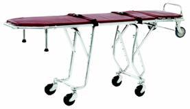 mattress and two Model 4 fivefoot-long, two-piece burgundy quick-release restraining straps 003245 Model 27-1 First Call Cot, without sidearms 003244 Model 27-1 First Call Cot, with sidearms 7¾ 200