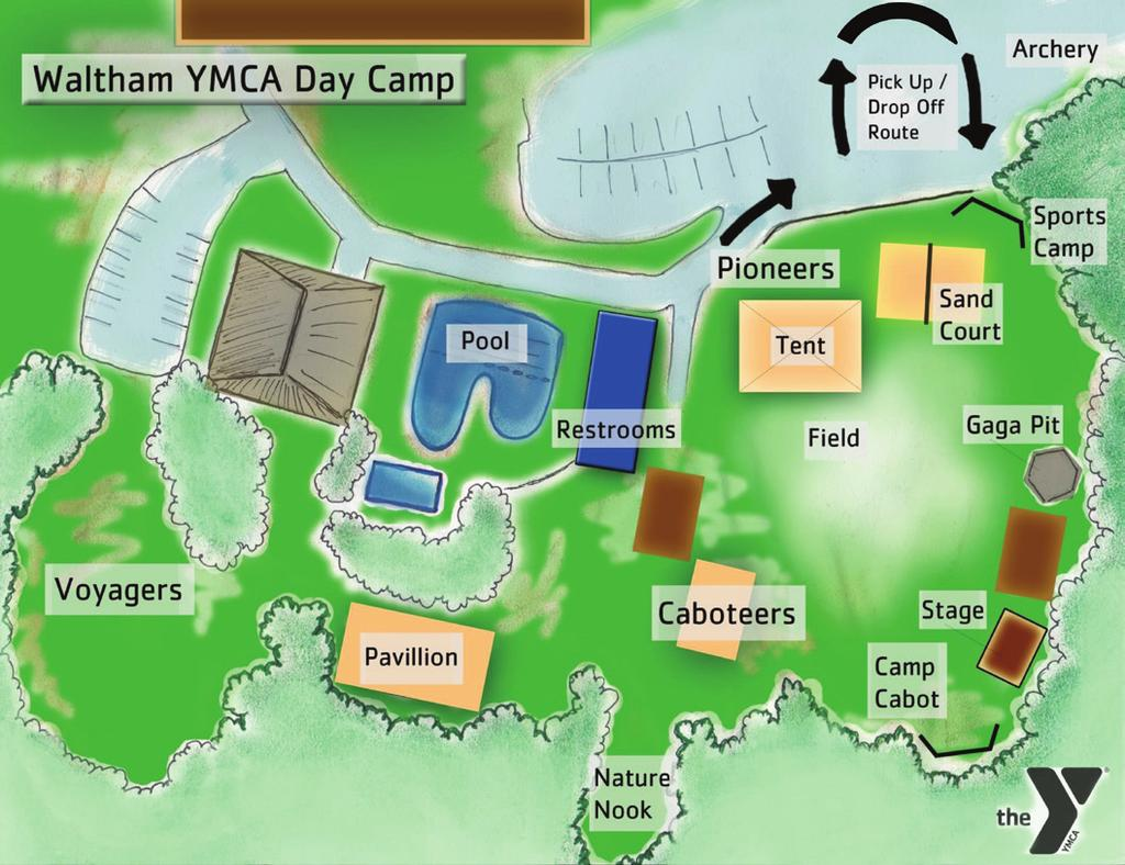 REGISTER ONLINE AT YMCABOSTON.ORG/CAMPS REGISTRATION Register for camp online or at your local YMCA branch. Online registration is not available for those who receive financial aid.