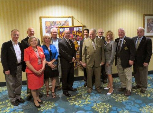 PAGE 4 The Grand Island Lion July-August 2016 The Grand Island Lions held their 60 th annual Installation of Officers and Awards Banquet on Wednesday June 8 th at the Radisson Inn on Grand Island.