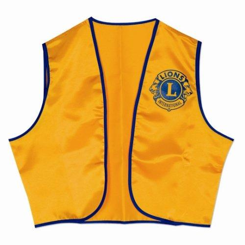 Visit us at: www.gilions.com. Lions Vests/Shirts Vests can be purchase form the Lions Website. https:// www2.lionsclubs.org/p-255-gold-vest.aspx the lettering seems high in price. in the book.