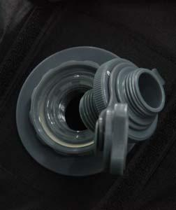 INFLATION: pump nozzle to the air inlet (as shown below). You are now ready to pump your air tube up.