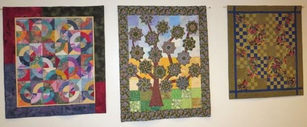Three sets of quilts will be on display: now OCT 18 quilts and wall hangings of a general nature; OCT 18-29 autumn quilts; and holiday quilts from NOV 29-JAN 9.
