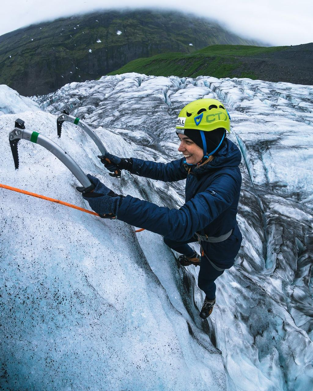 Ready for an ice climbing expedition on Vatnajökull glacier?