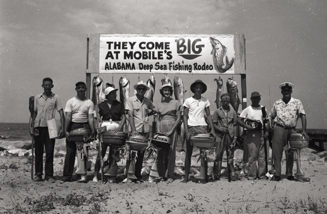 80TH ANNUAL ALABAMA DEEP SEA FISHING RODEO Get Hooked! Boasting miles of inland waterways, the second largest river delta in the country, Mobile Bay the fourth largest estuary in the U.S. and quick access to the Gulf of Mexico, it s no wonder south Alabama is an angler s paradise.