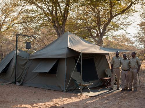MOBILE CAMPING ACCOMMODATION One of the main draw cards to selecting &Beyond Expeditions as your next adventure is the rustic and