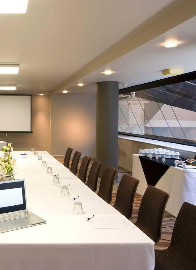 NORTHBRIDGE ROOM Our Northbridge meeting space can be found on the mezzanine level, boasting natural daylight and a private entrance.