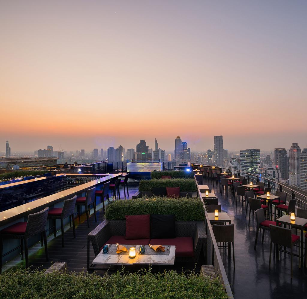 Restaurant Anantara Siam Bangkok Hotel 1 November - 20 December 2018 Deluxe Room THB 5,500 20% Discount on food and beverages except, minibar, room service, and alcohol beverage 20% Discount on Spa