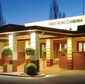 PLEASE JOIN US Venue Hyatt Hotel, Canberra 120 Commonwealth Avenue Canberra ACT 2600 P +61