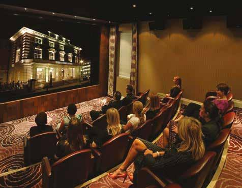 There is even a 30 seat private cinema, ideal as a quirky corporate presentation style or to be used for a VIP social event where colleagues can view the latest movie including