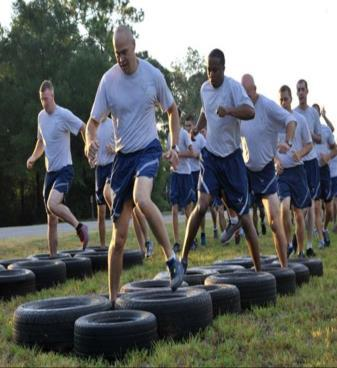 OBSTACLE COURSE : Troops will have to work together to