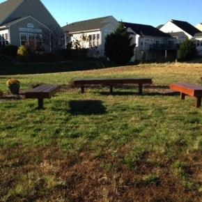 A great big thank you to everyone who came out to help with the benches and landscaping at Sunrise Park, whether that