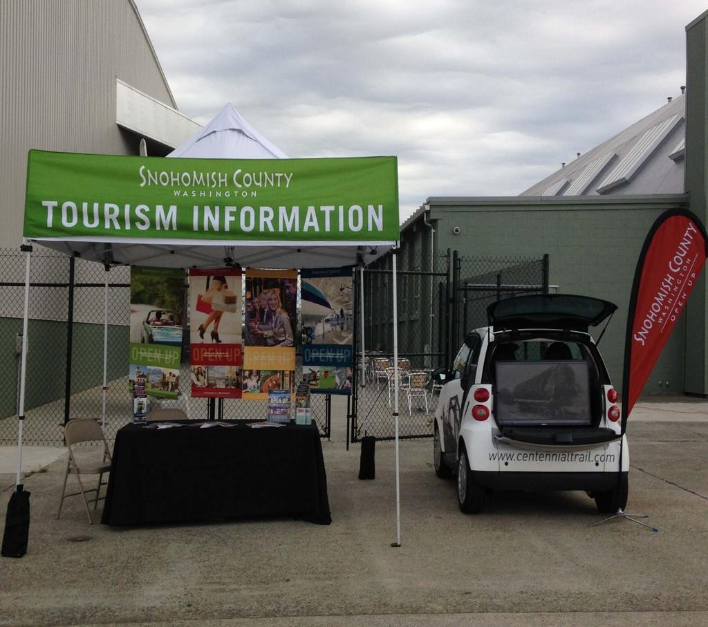 Visitor Services Mobile VICs opera<ng at events and fes<vals Travel Tips Adventure & Bike Show Avia<on