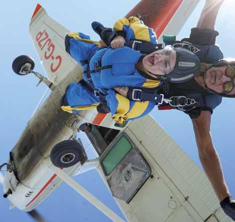 regions ontario Parapilot A Viable First Job Skydive Pilots Build Time and Experience Skydive pilots gain experience and hours in their first commercial job.