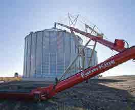 "Move Grain Fast Self-leveling hopper Hydraulic winch Scissor lift undercarriage 10"", 13"" and 16"" models Lengths up to 104' 2-year"